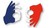 Langue des signes française.